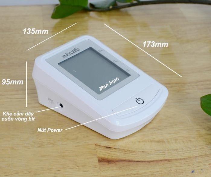 Máy đo huyết áp bắp tay Microlife 3NZ1-1P 3