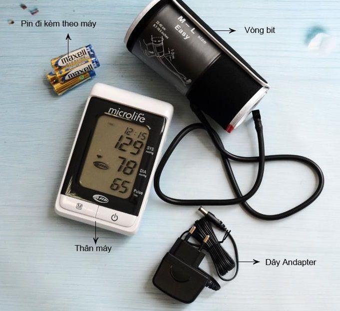 Máy đo huyết áp bắp tay Microlife BP A200 Chính Hãng 2