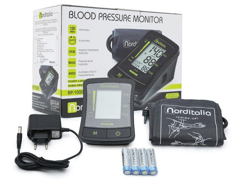 Máy đo huyết áp bắp tay Norditalia BP-1000 1