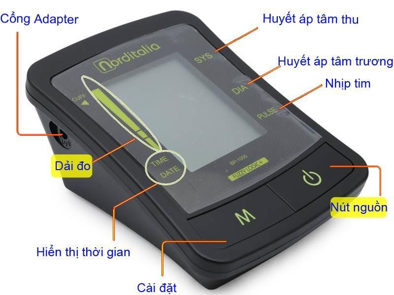 Máy đo huyết áp bắp tay Norditalia BP-1000 3