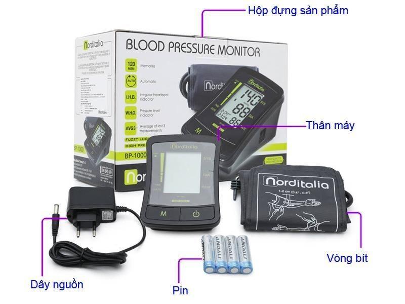 Máy đo huyết áp bắp tay Norditalia BP-1000 2