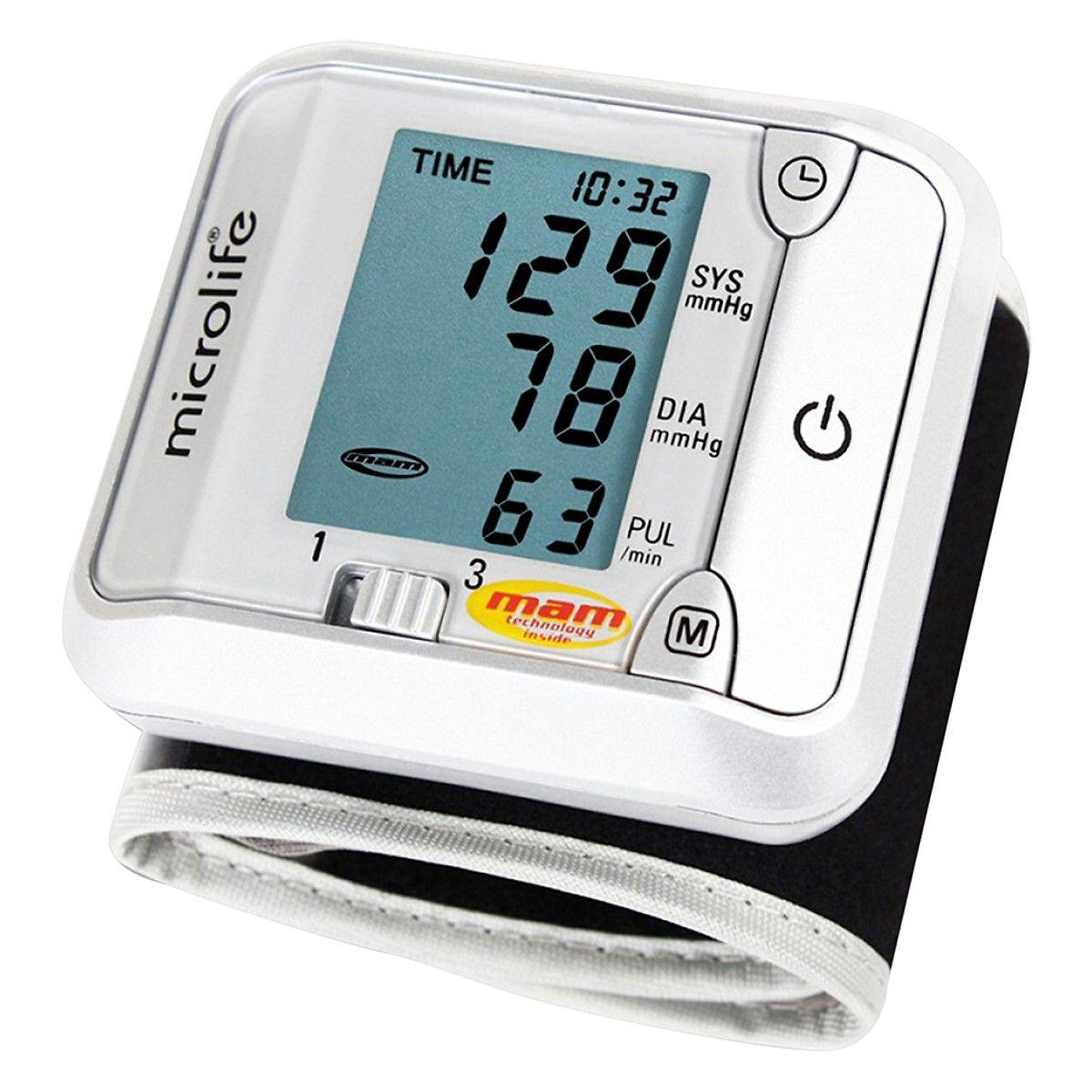 Máy đo huyết áp cổ tay Microlife 3BJ1 - 4D 2