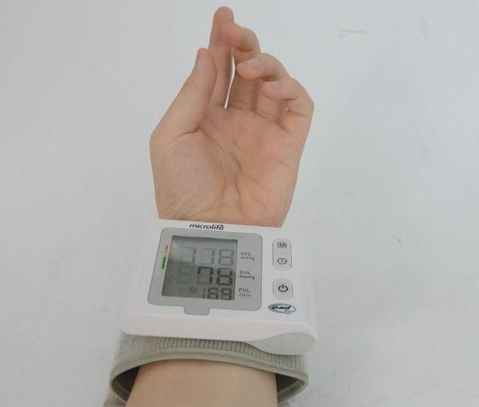 Máy đo huyết áp cổ tay Microlife W2 Slim Chính Hãng 3
