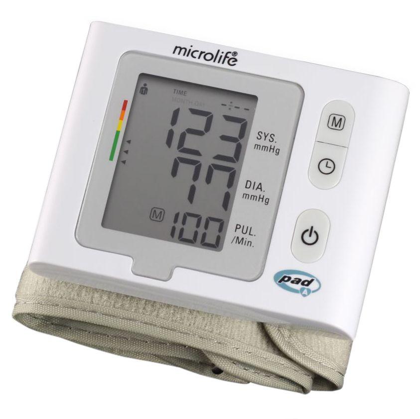 Máy đo huyết áp cổ tay Microlife W2 Slim Chính Hãng 2