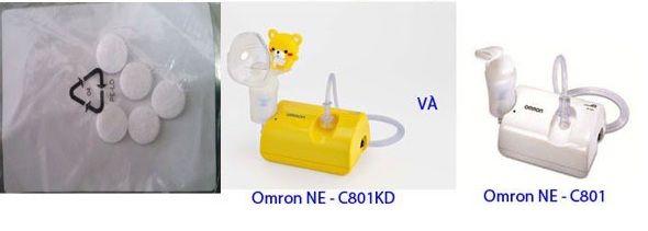 Miếng lọc khí máy xông mũi Omron NE-C801 1