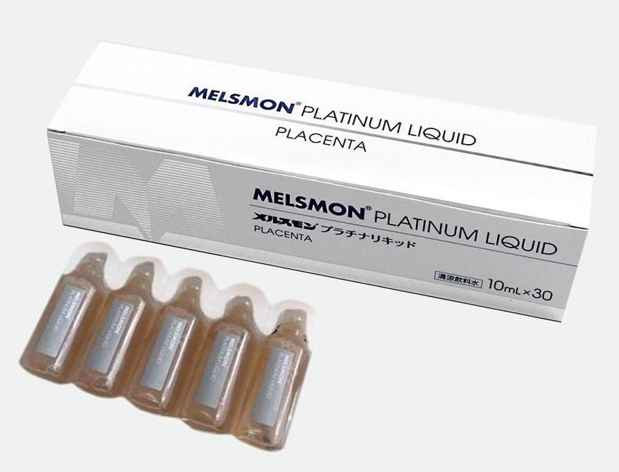Tế Bào Gốc Nhau Thai Melsmon Platinum Liquid Dạng Nước 1