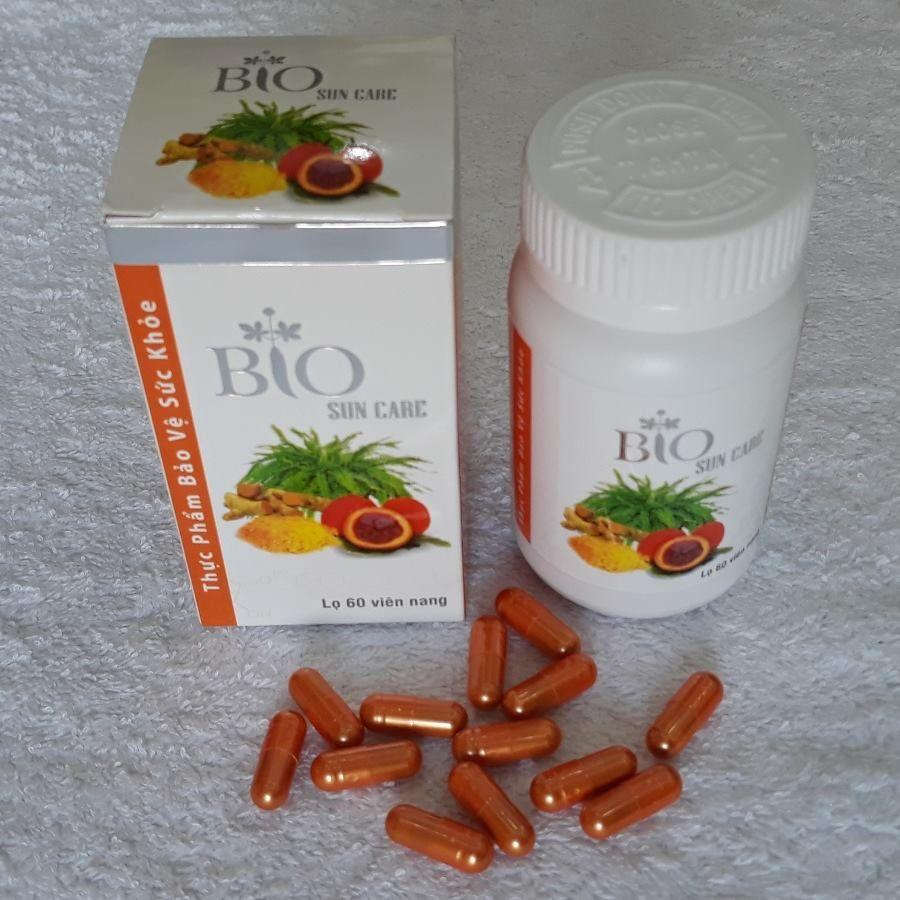 Viên uống Bio Sun Care Geneworld hỗ trợ chống nắng toàn thân.