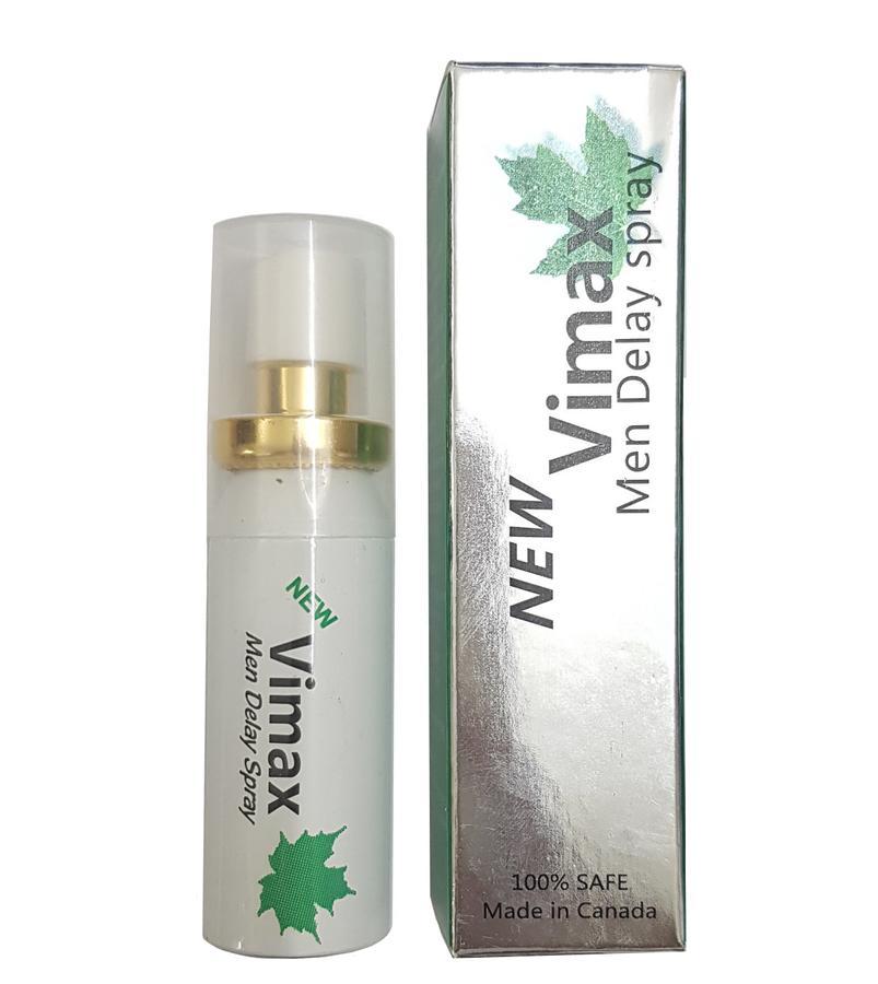 Xịt chống xuất tinh sớm Vimax Men Delay Spray 15ml cho nam giới