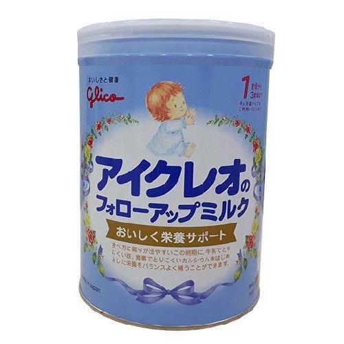 Sữa Glico Số 1 Nhật Bản: Bổ sung dưỡng chất cho trẻ từ 9 - 36 tháng tuổi