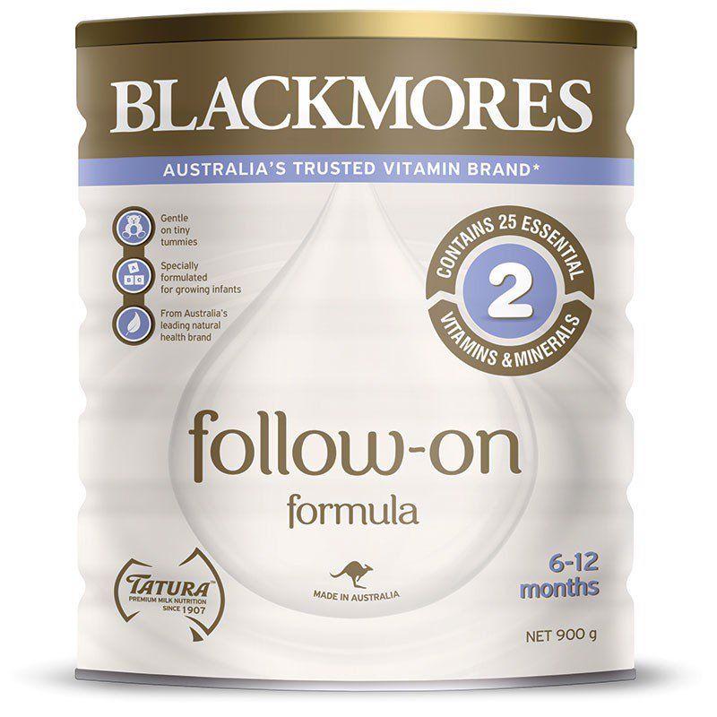 Sữa Blackmores Follow-on Formula 2 cho bé từ 6-12 tháng tuổi
