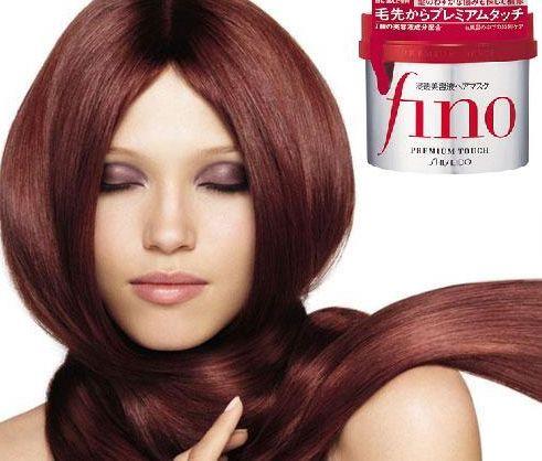 Kem ủ tóc Fino Shiseido giúp mái tóc mềm mượt, óng ả, bóng khỏe