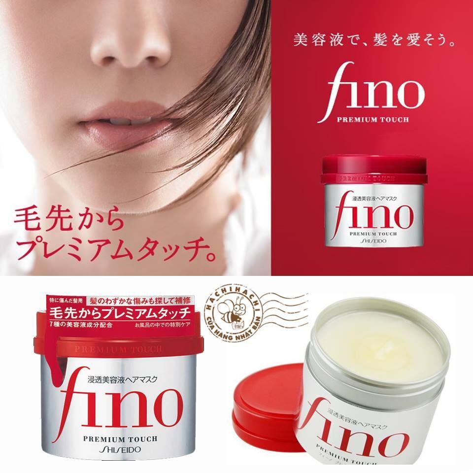 Kem ủ tóc Fino Shiseido của thương hiệu Shiseido Nhật Bản