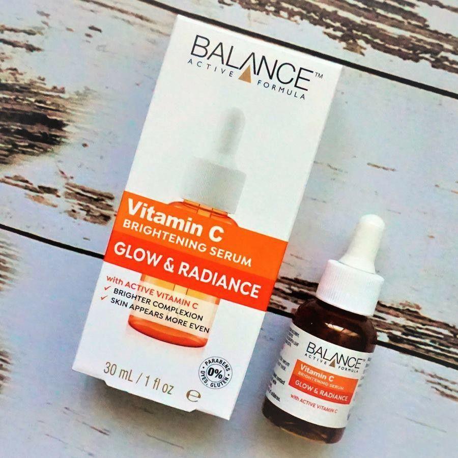 Serum hỗ trợ dưỡng trắng da Balance Vitamin C Glow and Radiance