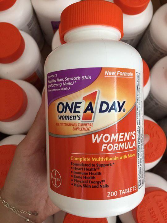 Vitamin One A Day Women's Formula - Vitamin tổng hợp cho phụ nữ dưới 50 tuổi