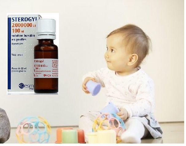 Vitamin D Sterogyl 100ml cho bé từ 0-18 tháng của Pháp 1