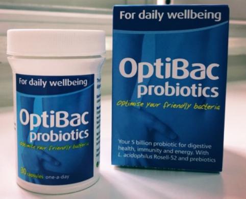 Men vi sinh Optibac xanh da trời Optibac For Daily Wellbeing