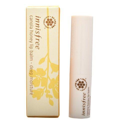 Son dưỡng mềm môi Innisfree Canola Honey Lip Balm của Hàn