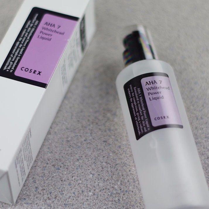 Tinh chất trị mụn đầu trắng Cosrx AHA 7 Whitehead Power Liquid
