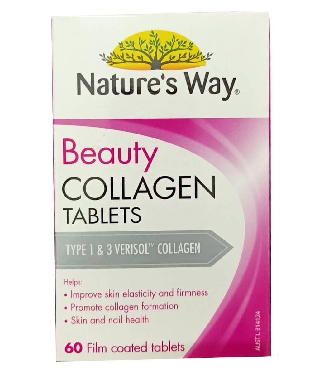 Viên uống đẹp da Beauty Collagen Nature's Way của Úc