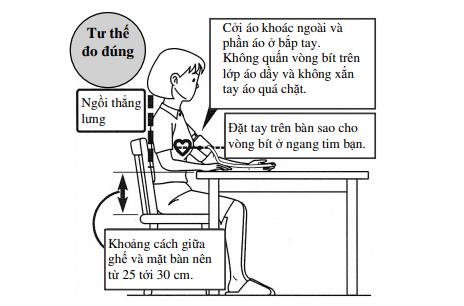 Máy đo huyết áp bắp tay Omron HEM-7203
