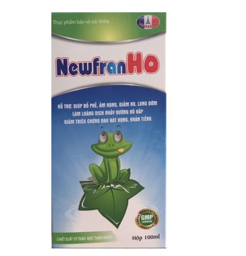 NewfranHo chiết xuất thảo mộc hỗ trợ giảm ho 100ml