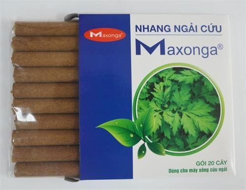 Nhang ngải cứu Maxonga hộp 20 cây