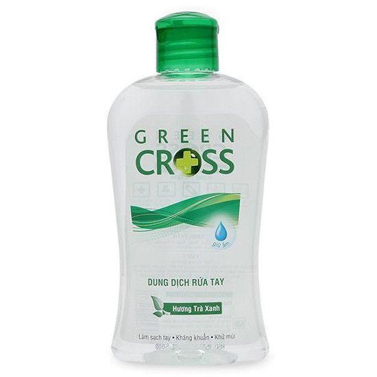 Nước rửa tay Green Cross hương trà xanh