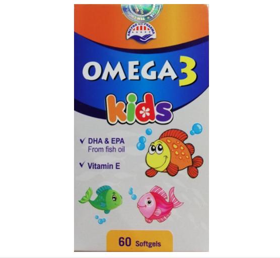 Viên uống Omega 3 Kids hộp 60 viên nang