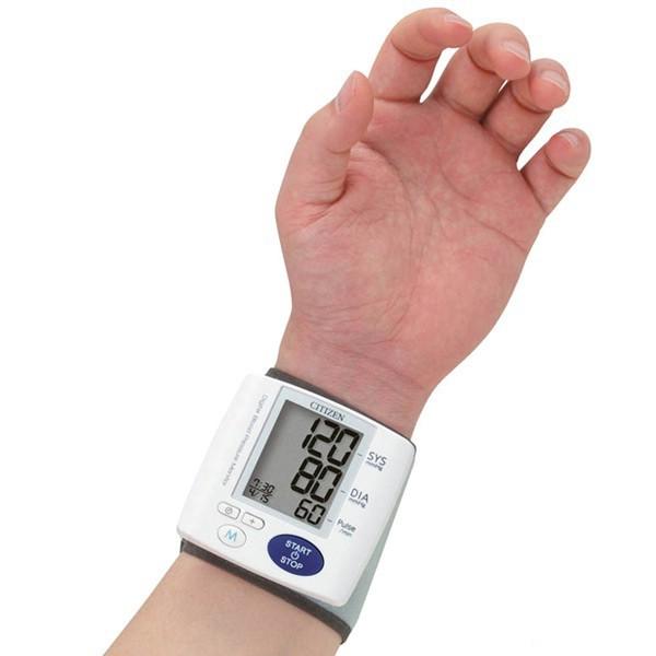 Máy đo huyết áp điện tử cổ tay Citizen CH-657