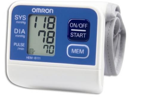 Máy đo huyết áp cổ tay tự động Omron HEM-6111