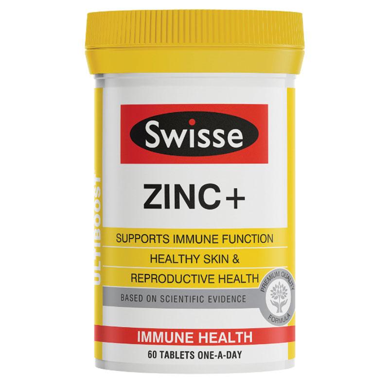 Viên bổ sung kẽm Swisse Zinc+ của Úc