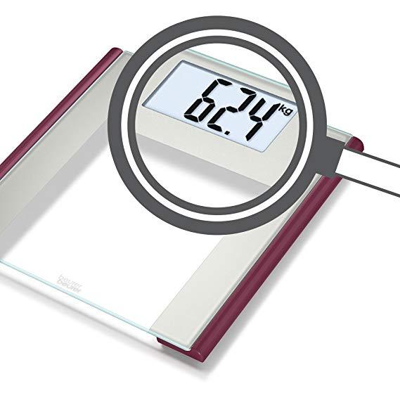 Cân sức khỏe điện tử mặt kính Ruby Beurer GS170