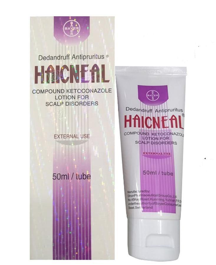 Haicneal - Dầu gội Haicneal hỗ trợ trị nấm da đầu Hàn Quốc 50ml, chính hãng, Giá tốt