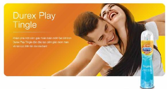 Gel Bôi Trơn Durex Play Tingling