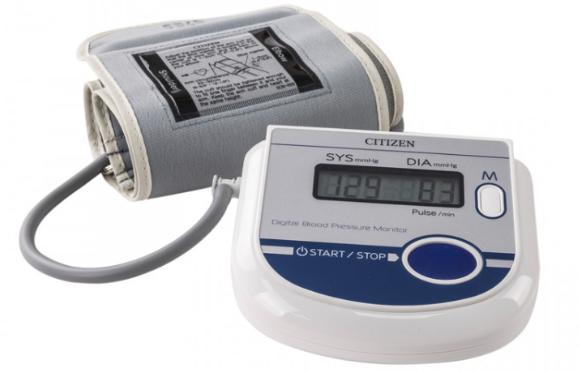Máy đo huyết áp Citizen CH-452 AC nhập khẩu Nhật Bản