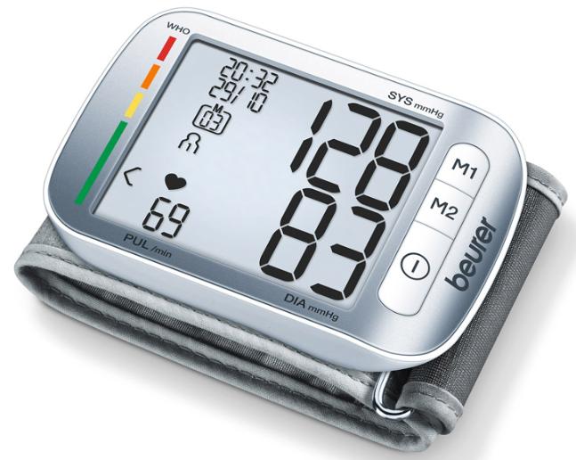 Máy đo huyết áp cổ tay Beurer BC50 chính hãng Đức