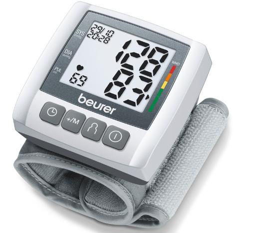 Máy đo huyết áp cố tay tự động Beurer BC30