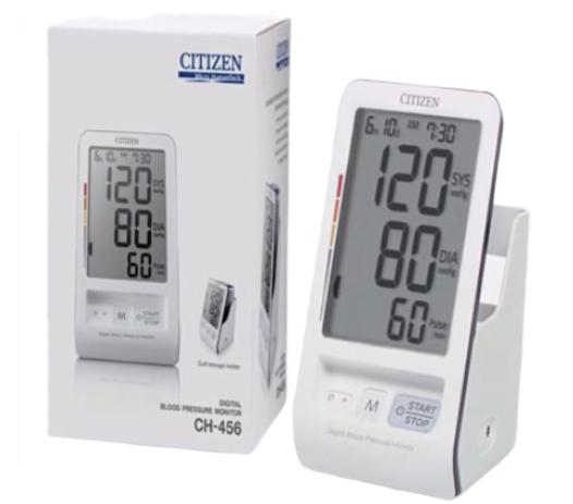 Máy đo huyết áp điện tử bắp tay Citizen CH-456 Nhật Bản