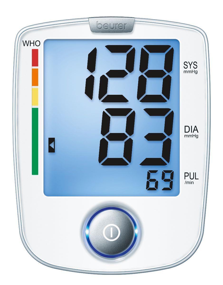 Đo huyết áp, nhịp tim dễ dàng đơn giản với Máy đo huyết áp Beurer BM44