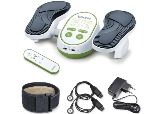 Bộ sản phẩm máy massage chân xung điện Beurer FM250