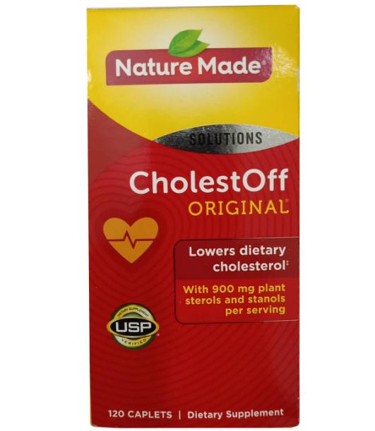 Viên uống hỗ trợ tim mạch Nature Made CholestOff Original của Mỹ