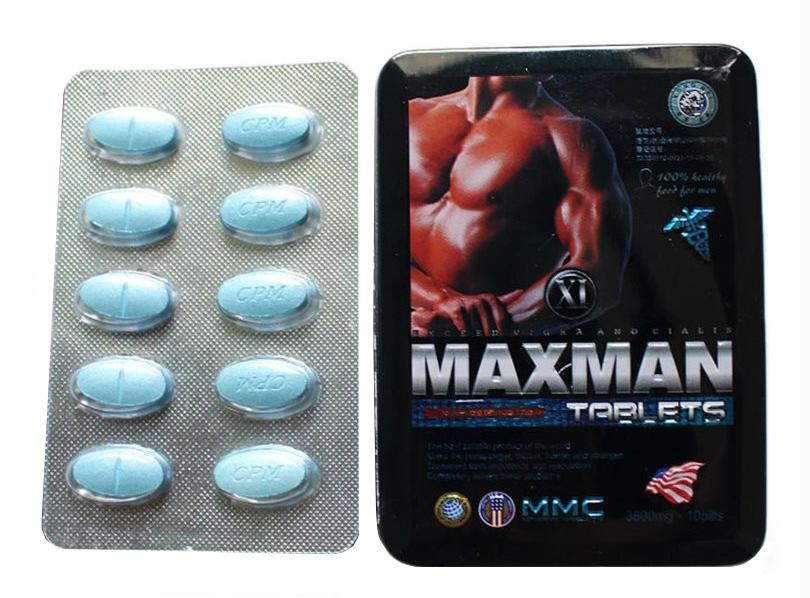 Viên uống Maxman cho nam giới hộp 10 viên của Mỹ
