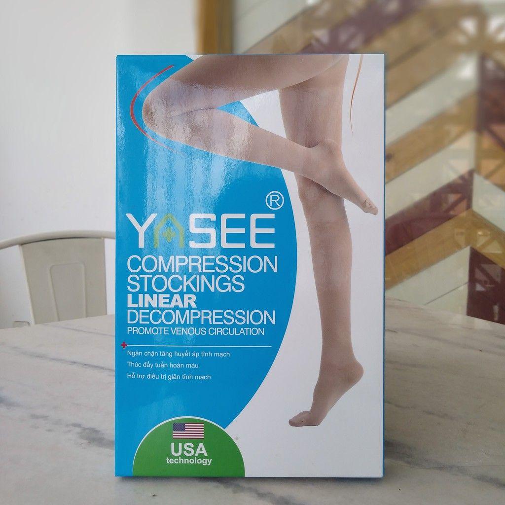 Vớ y khoa trị suy giãn tĩnh mạch bắp chuối chân Yasee của Mỹ