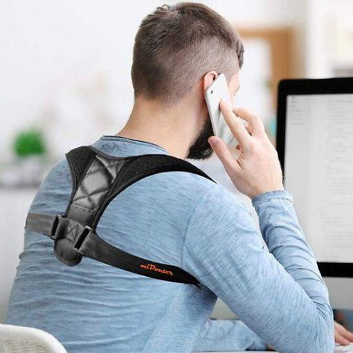 Đai đeo MiDoctor điều chỉnh tư thế, cải thiện lưng gù