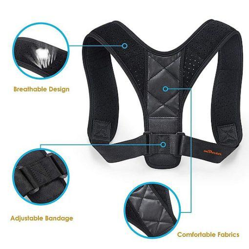 Đai lưng MiDoctor thiết kế dây đeo điều chỉnh dễ dàng, vừa vặn với nhiều đối tượng sử dụng