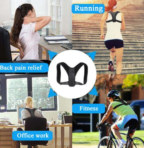 Đai chống gù lưng Posture Corrector dùng dễ dàng, tiện dụng