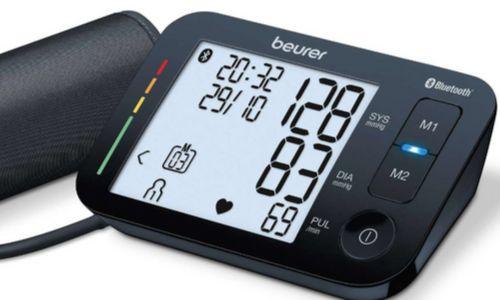 Máy đo huyết áp bắp tay Beurer BM54 Bluetooth uy tín, giá rẻ