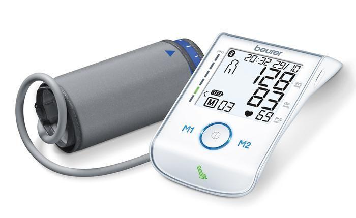 Thiết kế máy đo huyết áp beurer BM85 nhỏ gọn tiện dụng