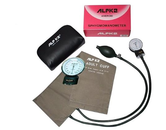Máy đo huyết áp cơ đồng hồ ALPK2 500V chính hãng Nhật Bản