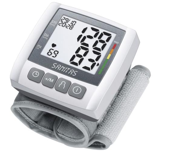 Máy đo huyết áp cổ tay Sanitas SBC21